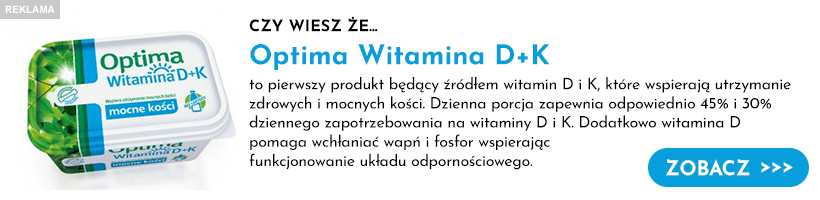 Optima Witamina D+K